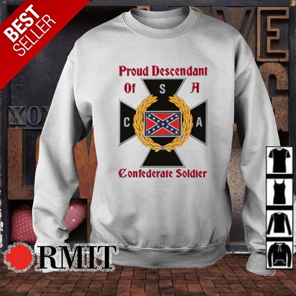 Proud Descendant of a Confederate soldier s sweater