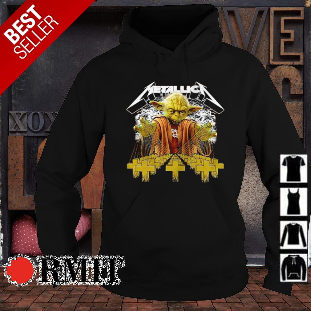 Star master yoda Metallica s hoodie1