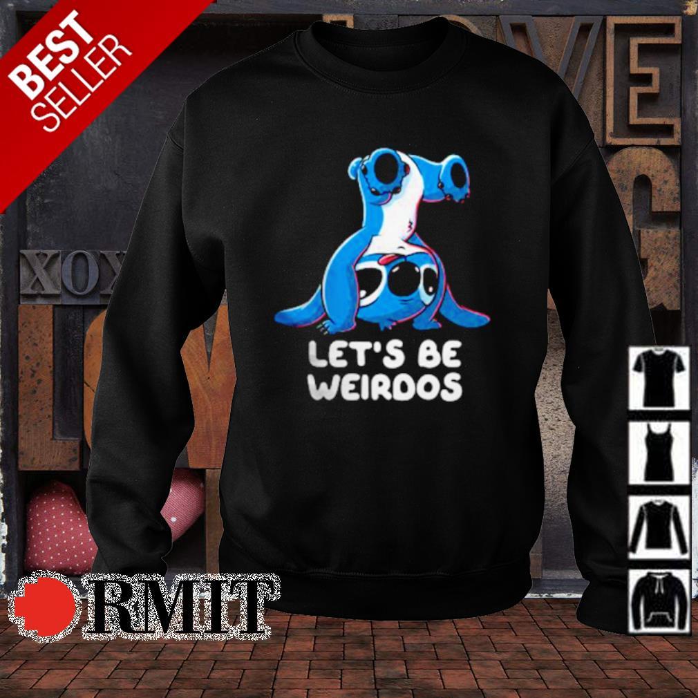 Stitch let's be weirdos s sweater1