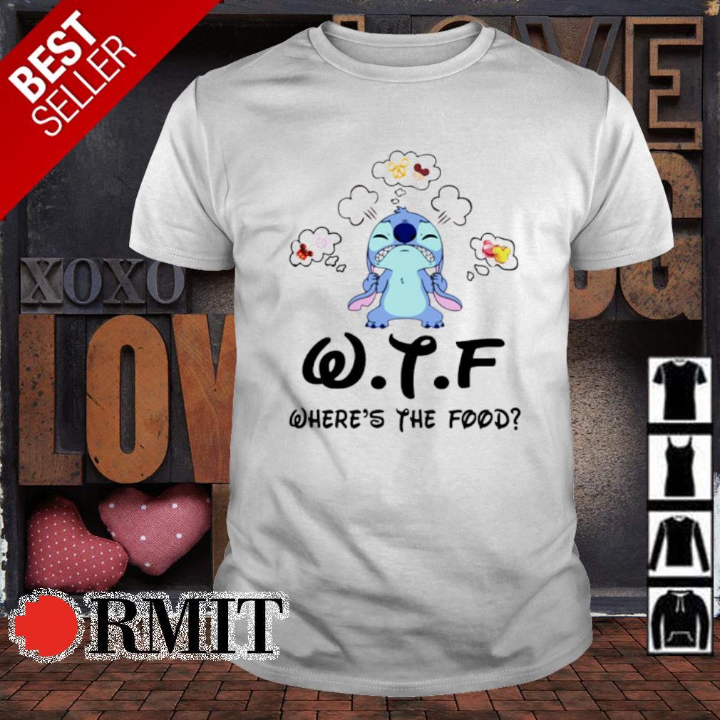 Stitch WTF where's the food shirt