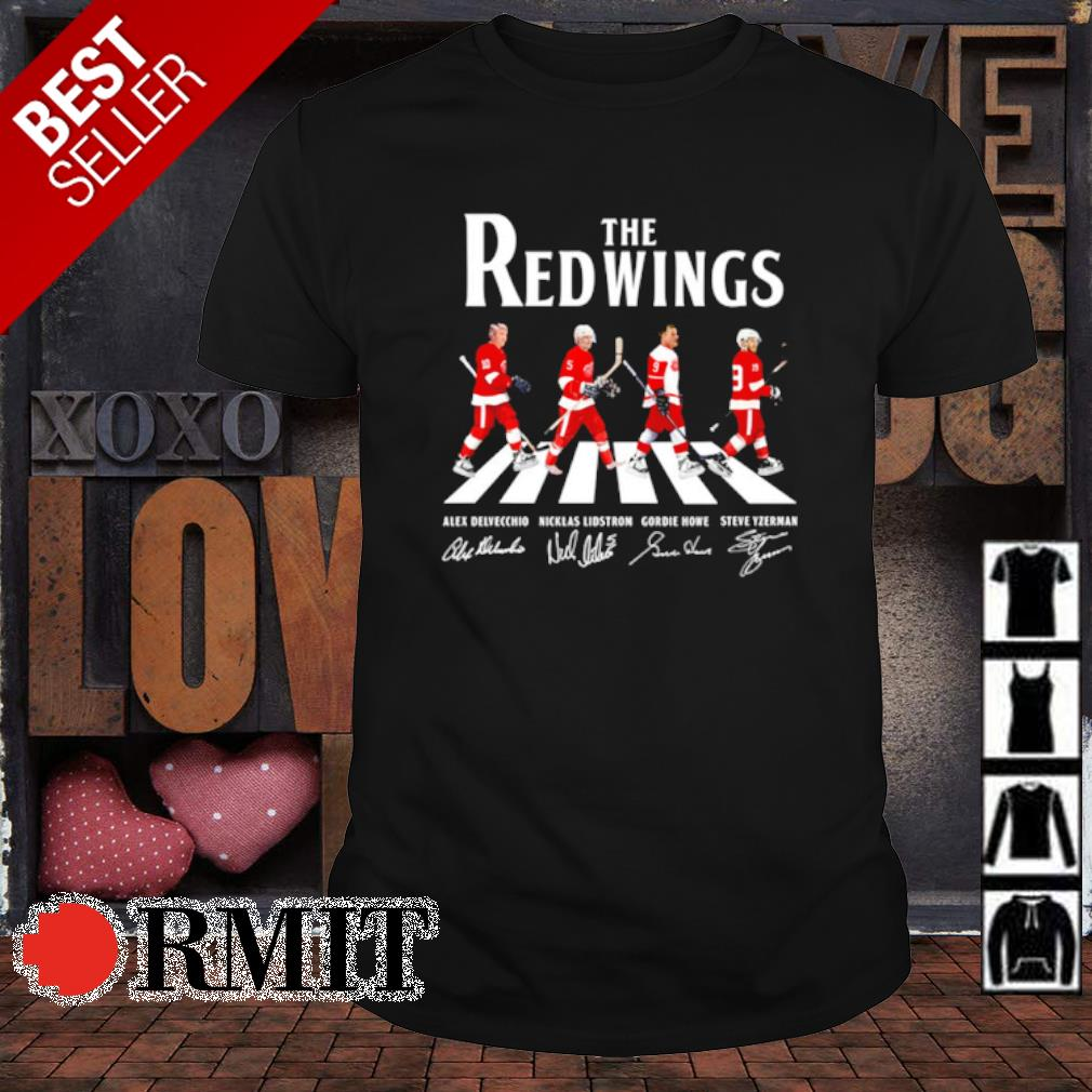 The Red Wings Abbey Road signature shirt