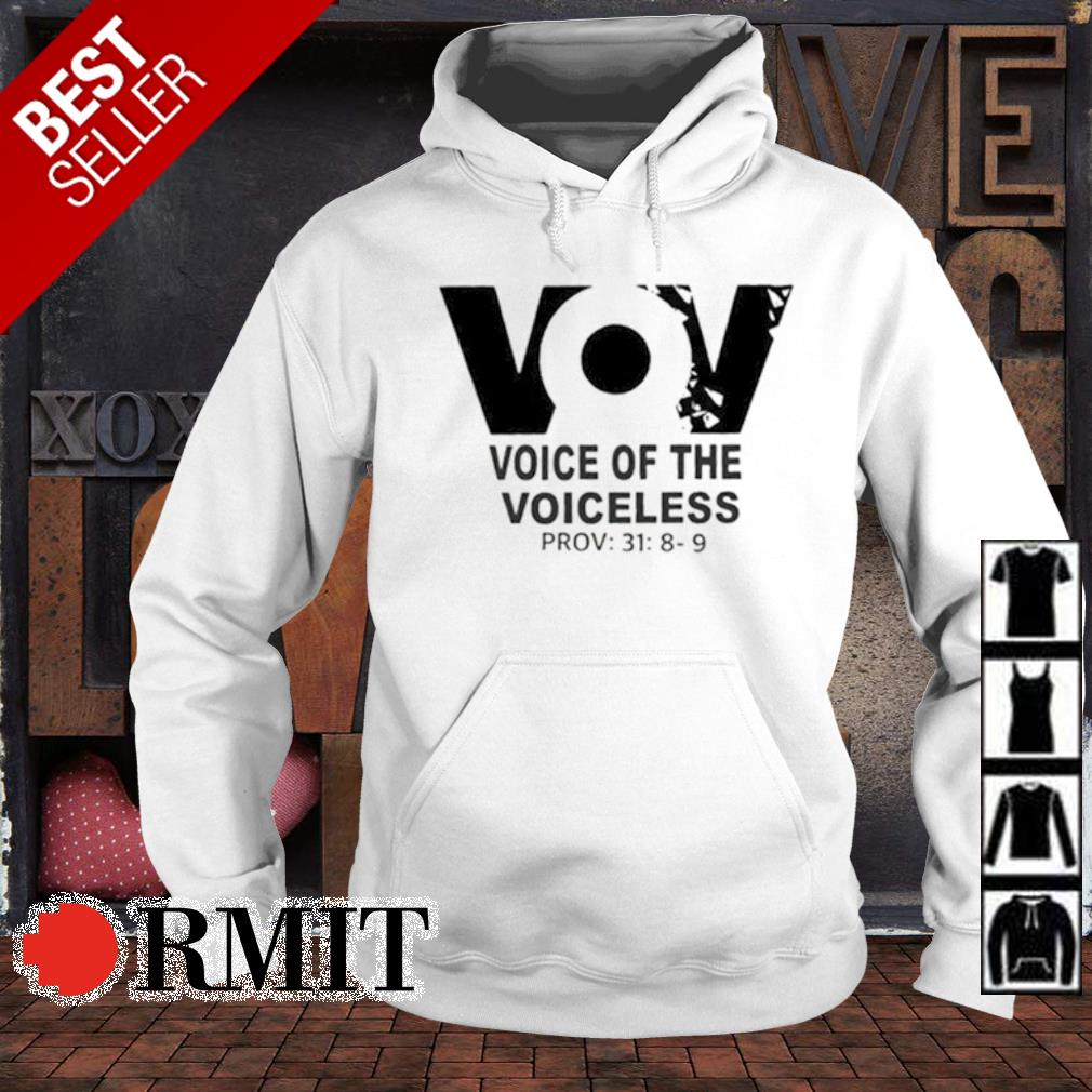 VoV voice of the voiceless s hoodie