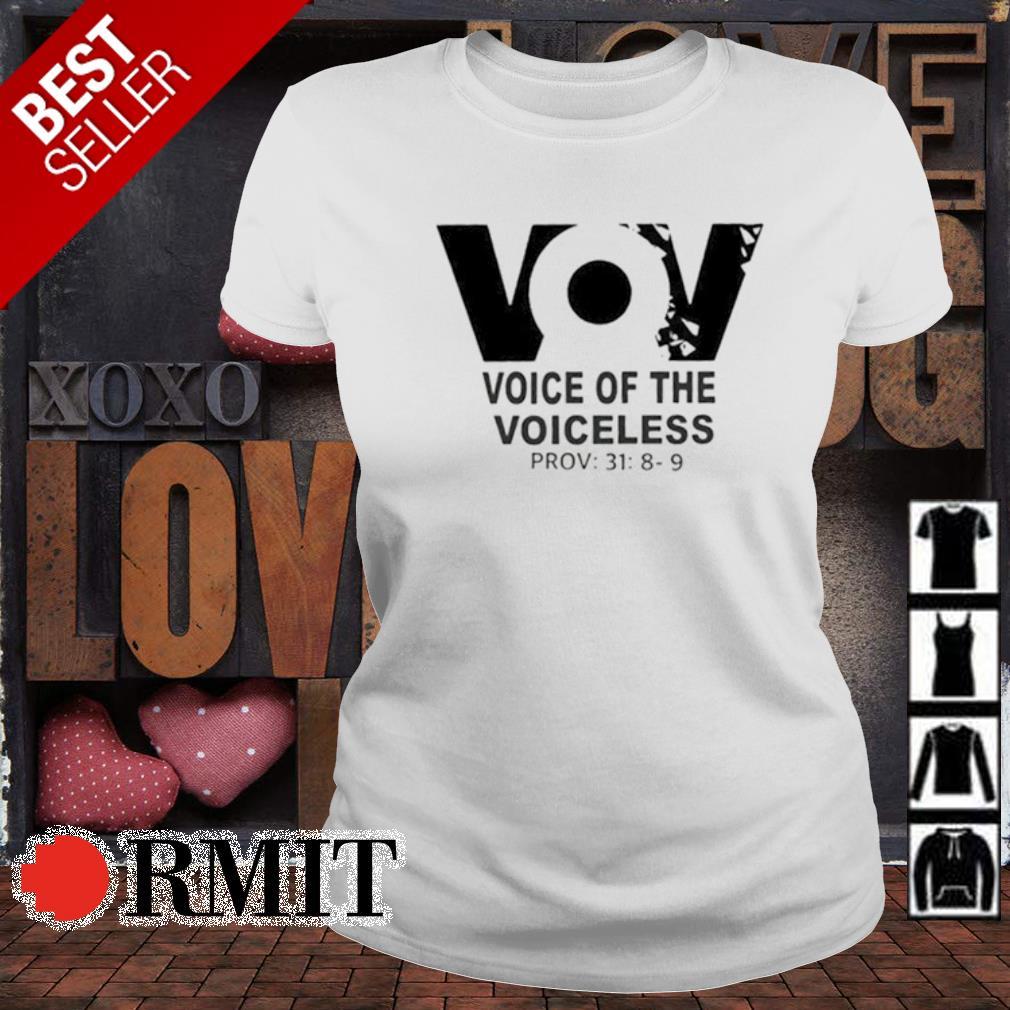 VoV voice of the voiceless s ladies-tee