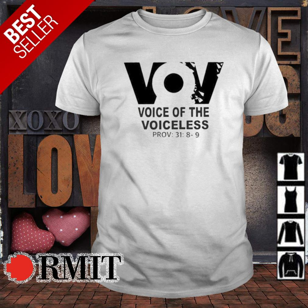 VoV voice of the voiceless shirt