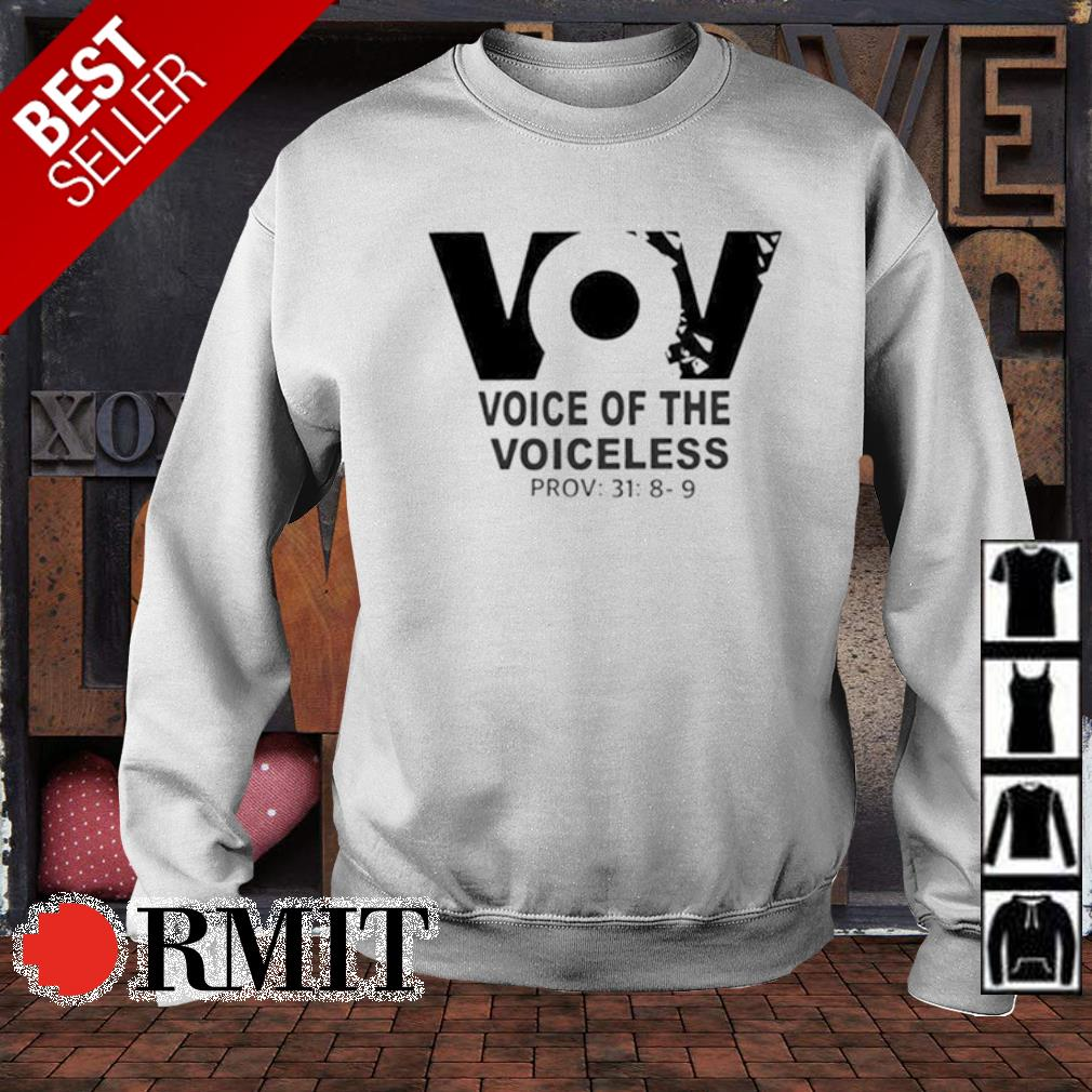VoV voice of the voiceless s sweater