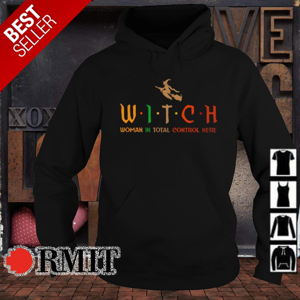 Witch woman in total control here vintage s hoodie1