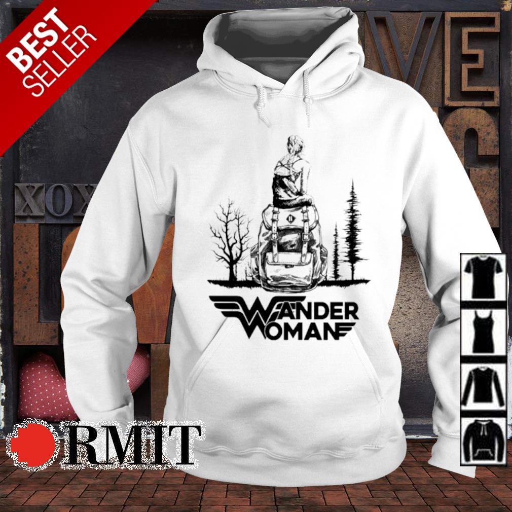 Wonder Woman Camping Wander Woman s hoodie