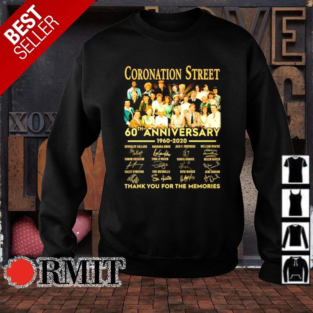 Coronation Street 60th Anniversary thank you for the memories s sweater1