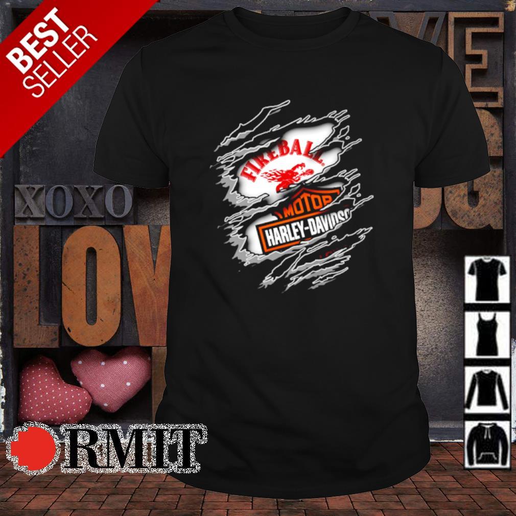 Fireball Motor Company Harley Davidson shirt