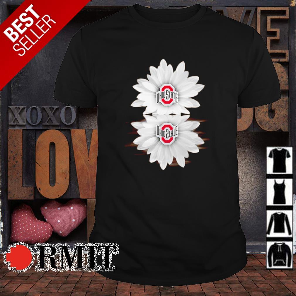 Flower Ohio State Buckeyes water mirror shirt