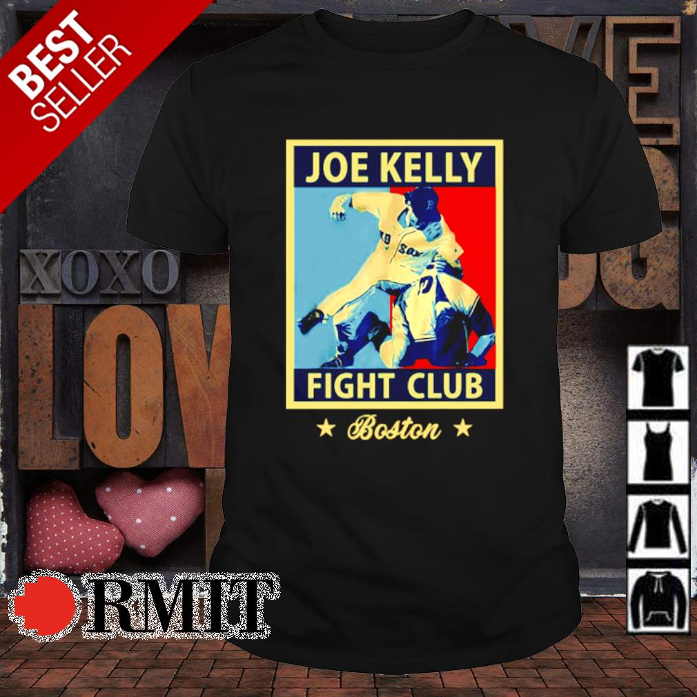 Joe kelly fight club boston retro shirt