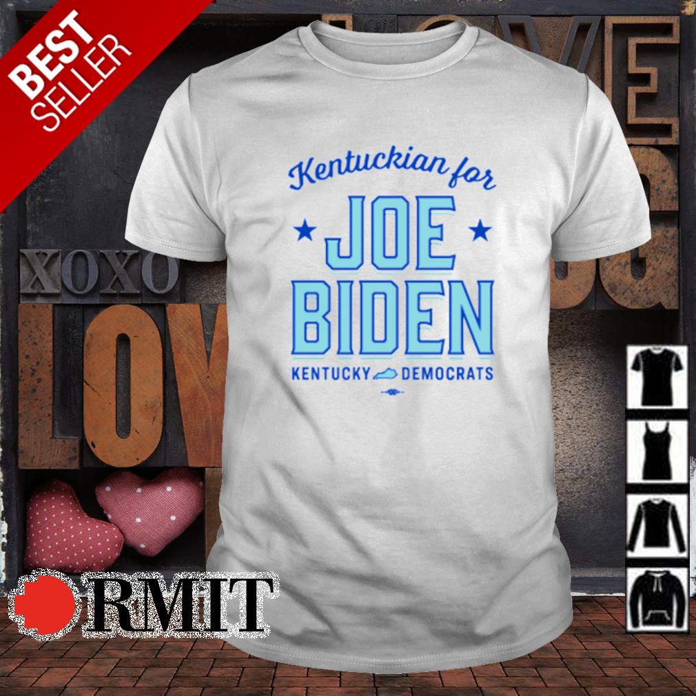 Kentuckian for Joe Biden kentucky democrats shirt