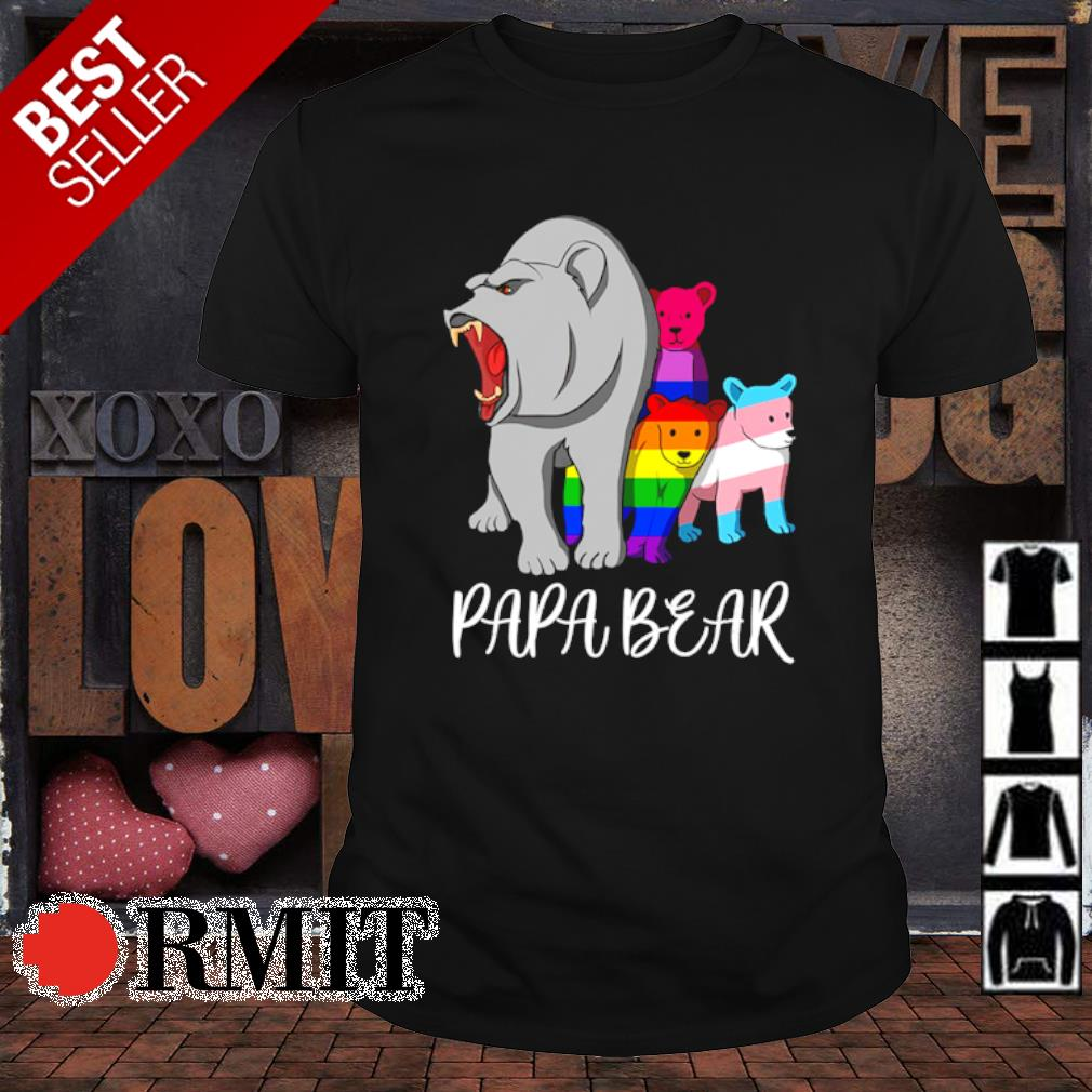LGBT bear Papa bear shirt