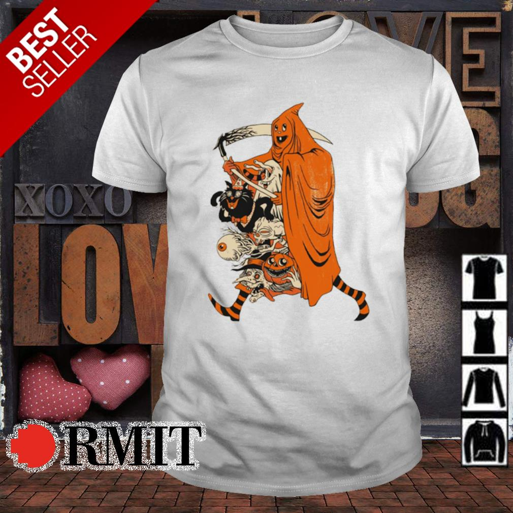 Saint devil pumpkin Halloween shirt