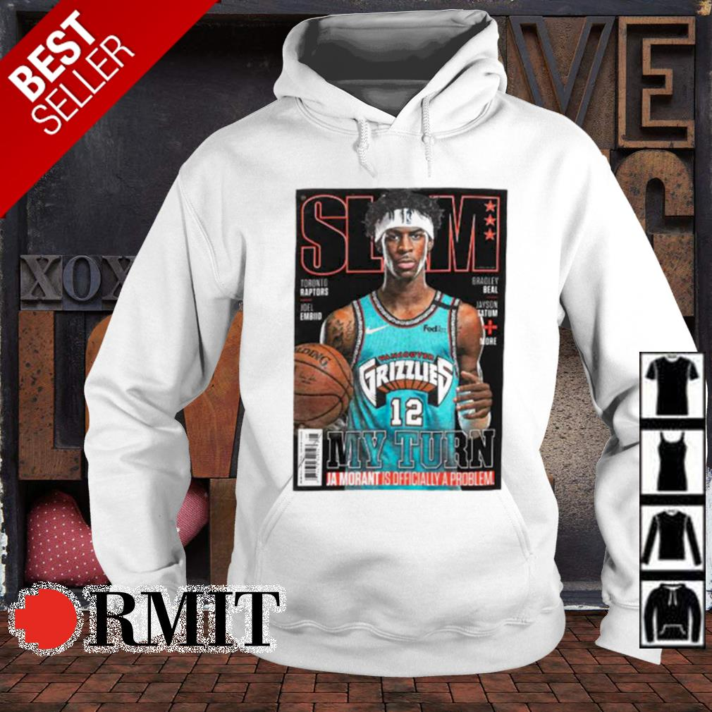 Slam Memphis Grizzlies Star Ja Morant Covers Slam s hoodie