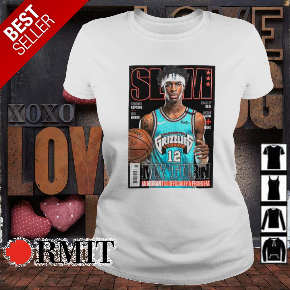 Slam Memphis Grizzlies Star Ja Morant Covers Slam s ladies-tee