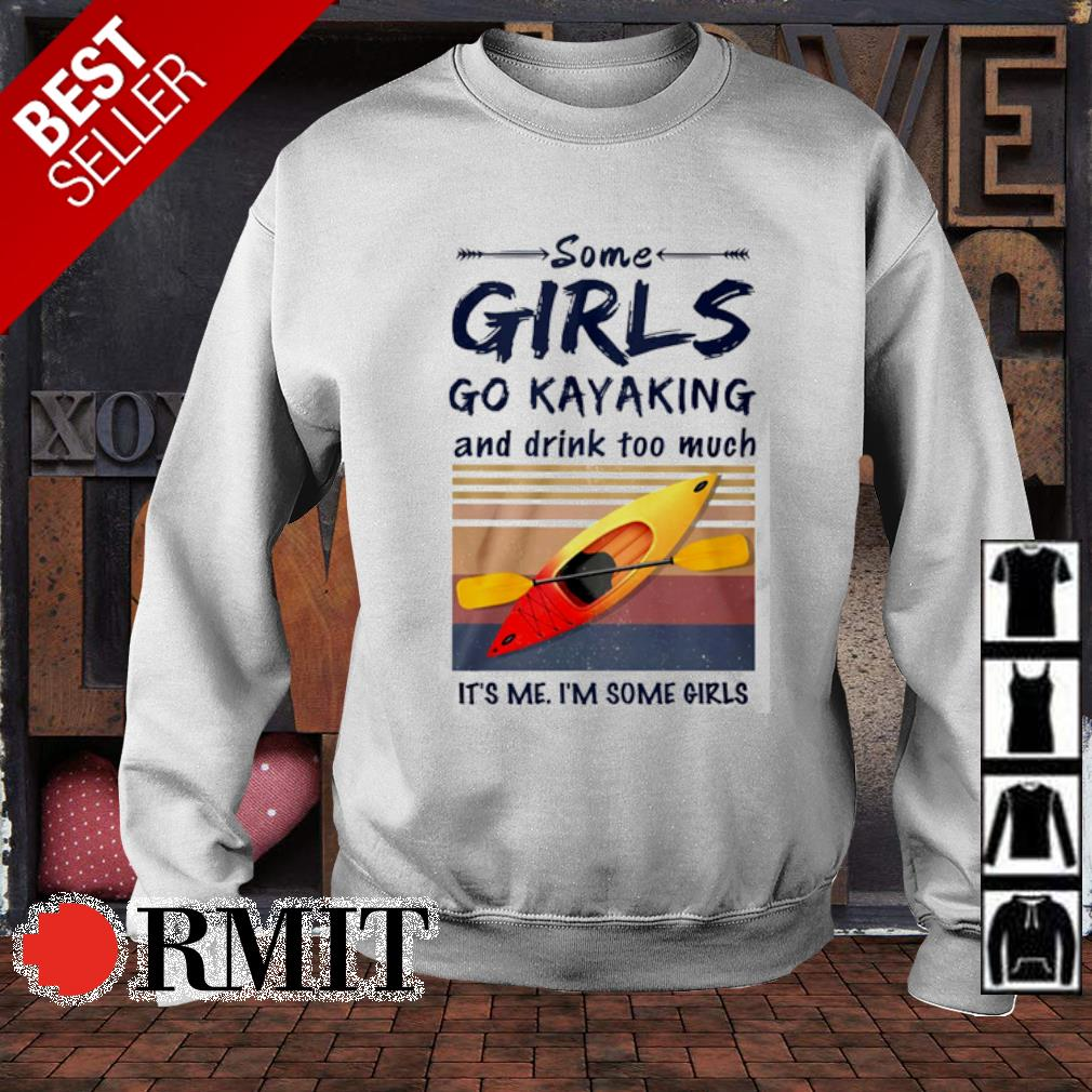 Some girls go Kayaking and drink too much vintage s sweater