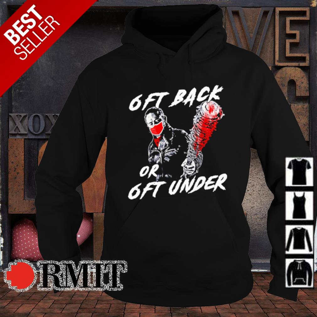 Walking Dead 6ft back or 6ft under s hoodie1