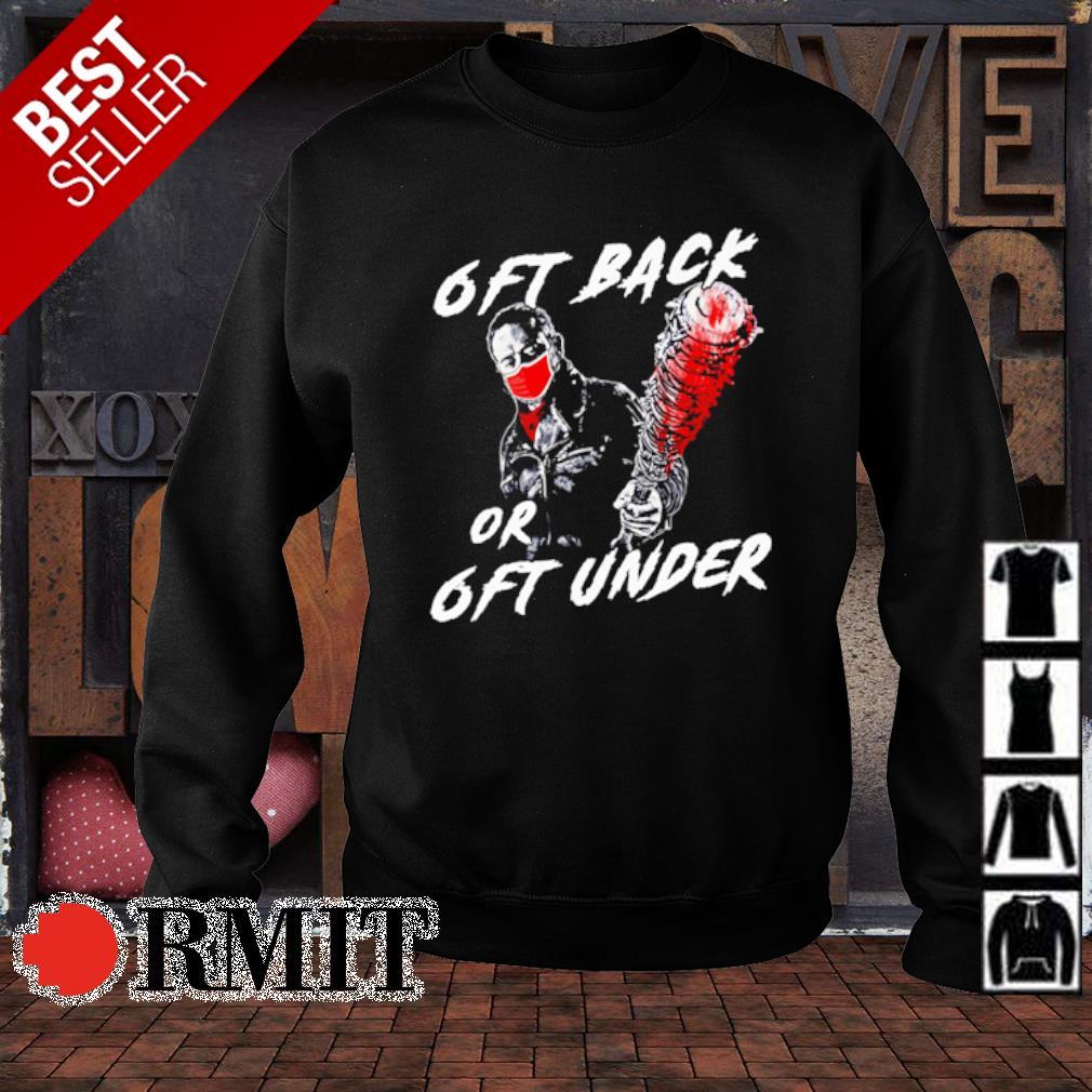 Walking Dead 6ft back or 6ft under s sweater1