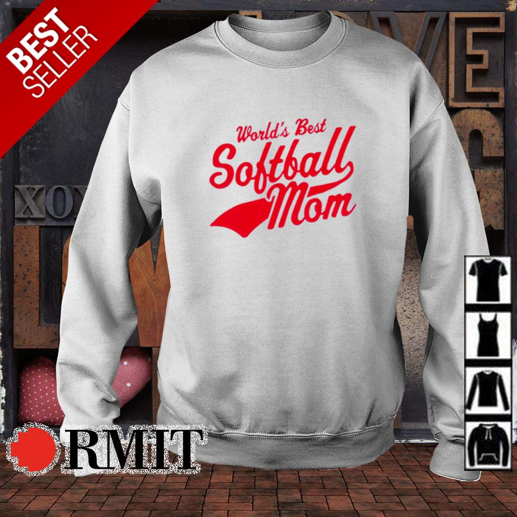 World's best softball Mom s sweater