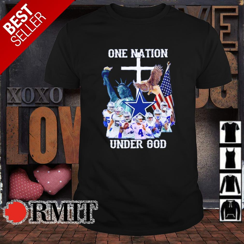 Dallas Coeboys one nation under God shirt