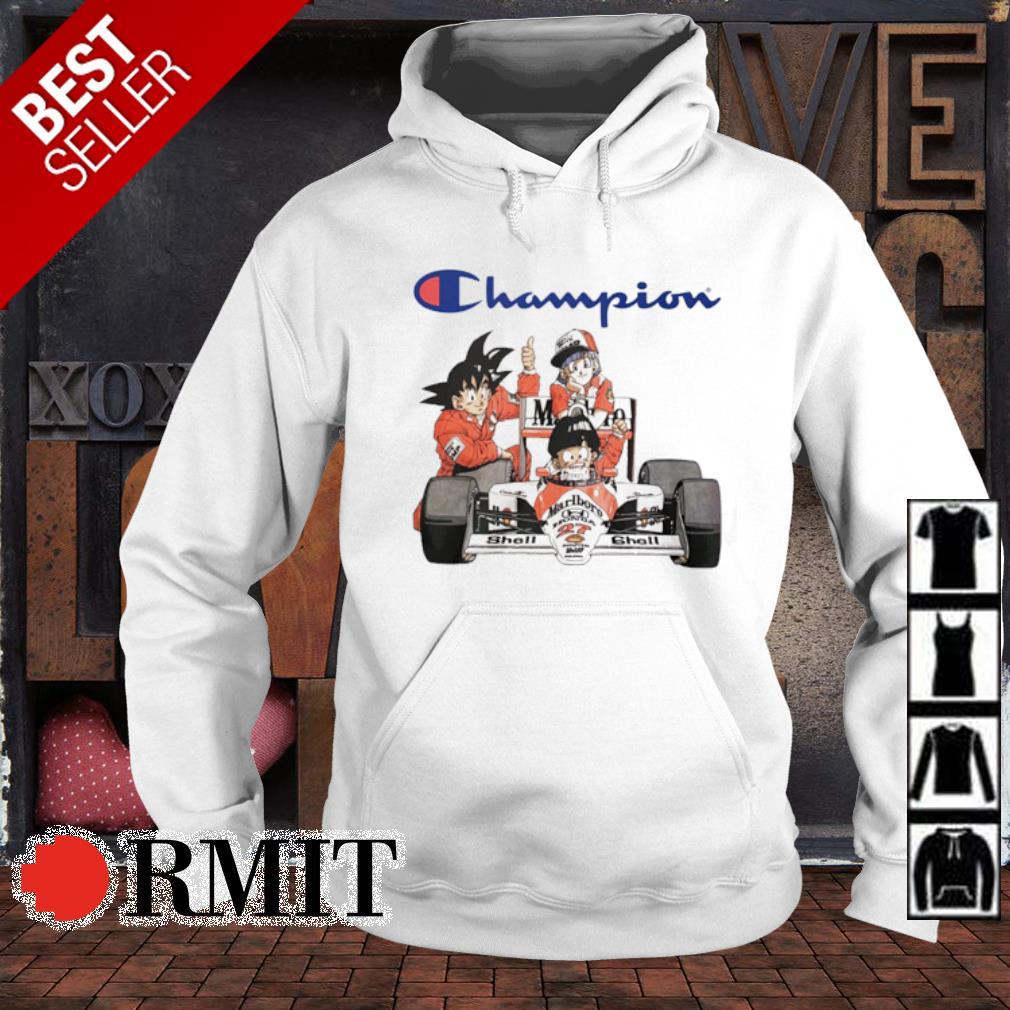 Dragon Ball characters MarLboro Champion s hoodie