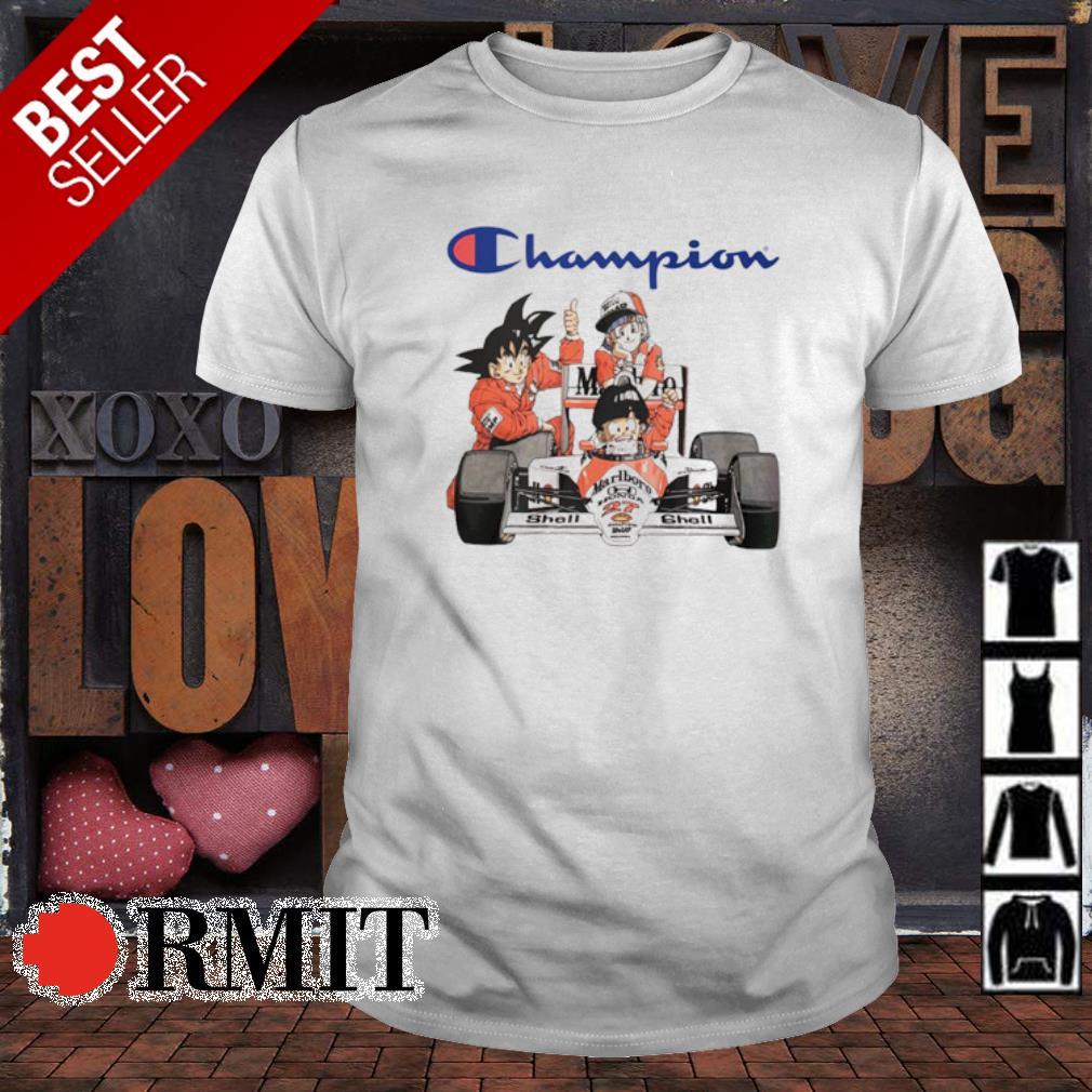 Dragon Ball characters MarLboro Champion shirt