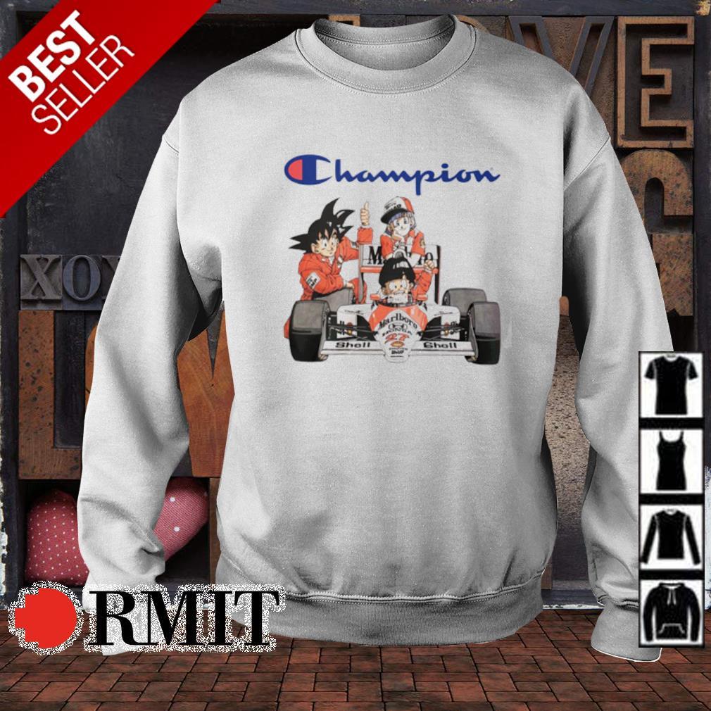 Dragon Ball characters MarLboro Champion s sweater