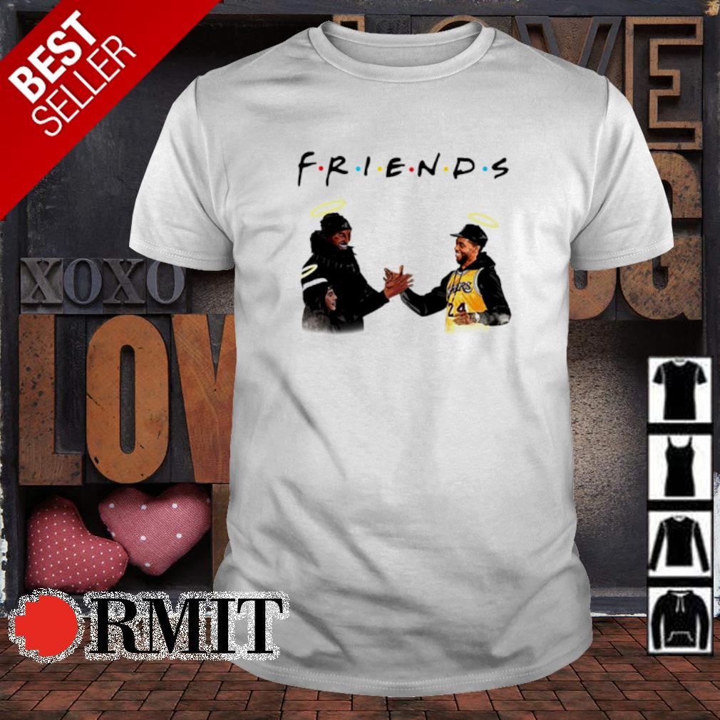 Friends Kobe Bryant and Chadwick Boseman shirt