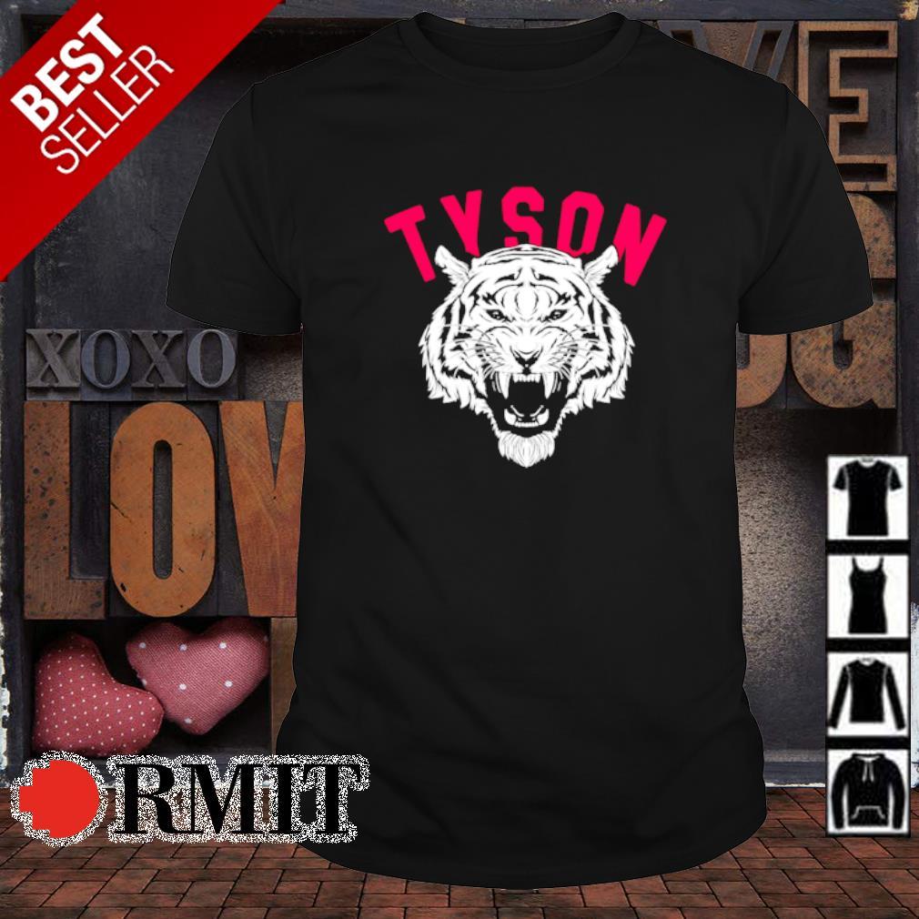 Mike Tyson Tiger shirt