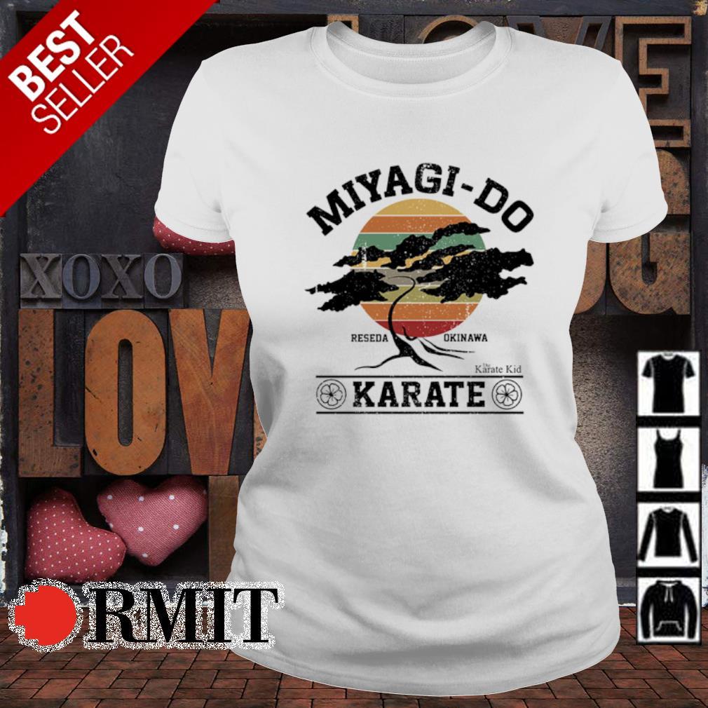 Miyagi-do karate reseda okinawa vintage s ladies-tee