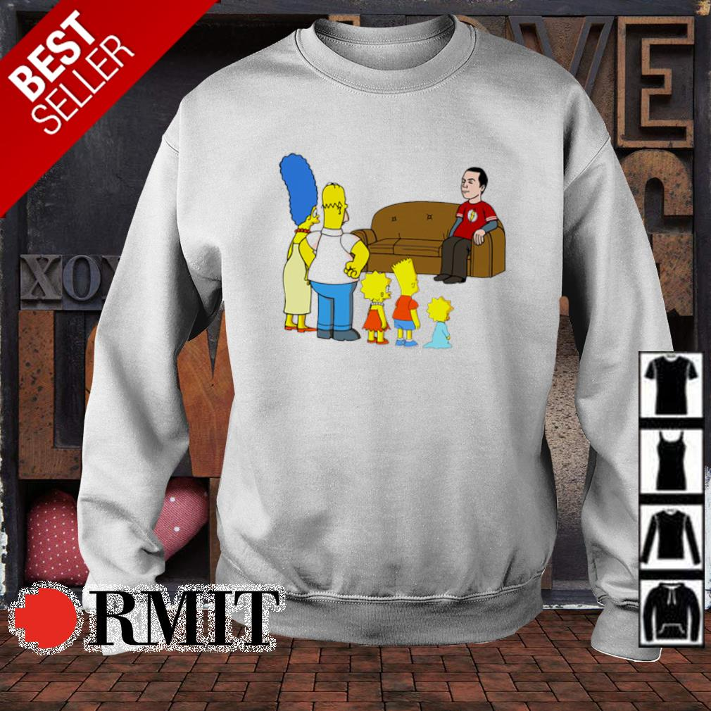 The Simpson family and Sheldon Cooper s sweater