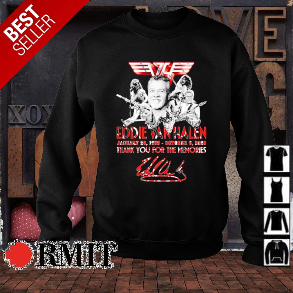 Eddie Van Halen January 26 1955 October 6 2020 thank you for the memories s sweater1