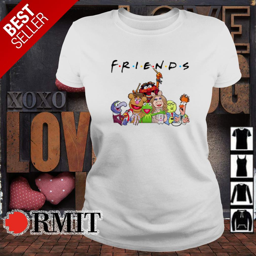 Friends TV Show The Muppet Show s ladies-tee