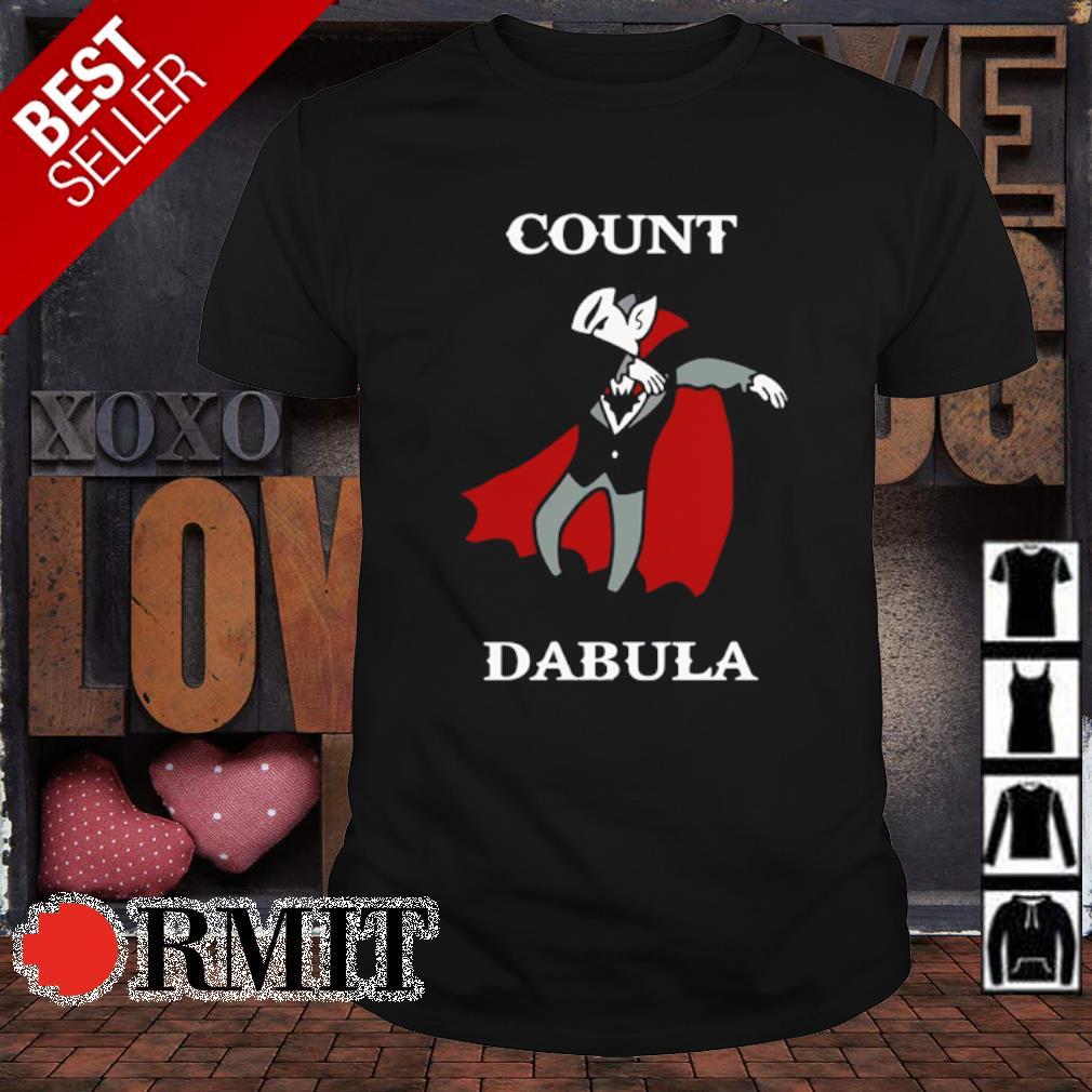 Halloween Count Dabula Dab shirt
