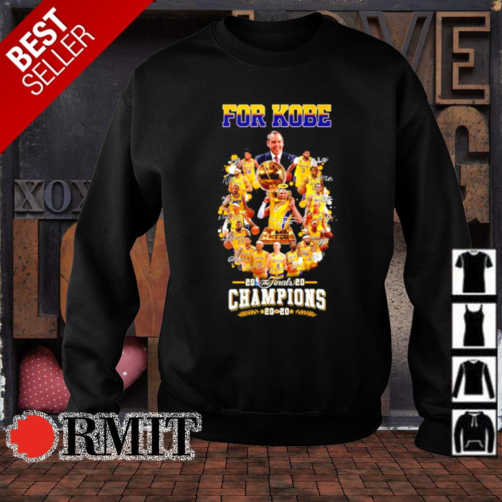 Los Angeles Lakers for Kobe champions 2020 s sweater1
