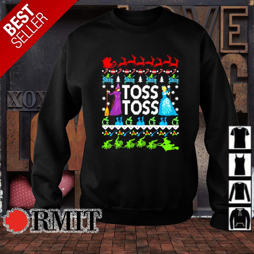 Princess Witch Toss Toss Christmas s sweater1