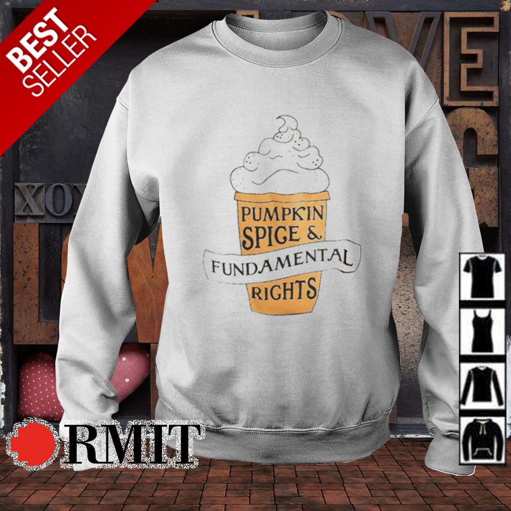 Pumpkin spice and fundamental rights s sweater