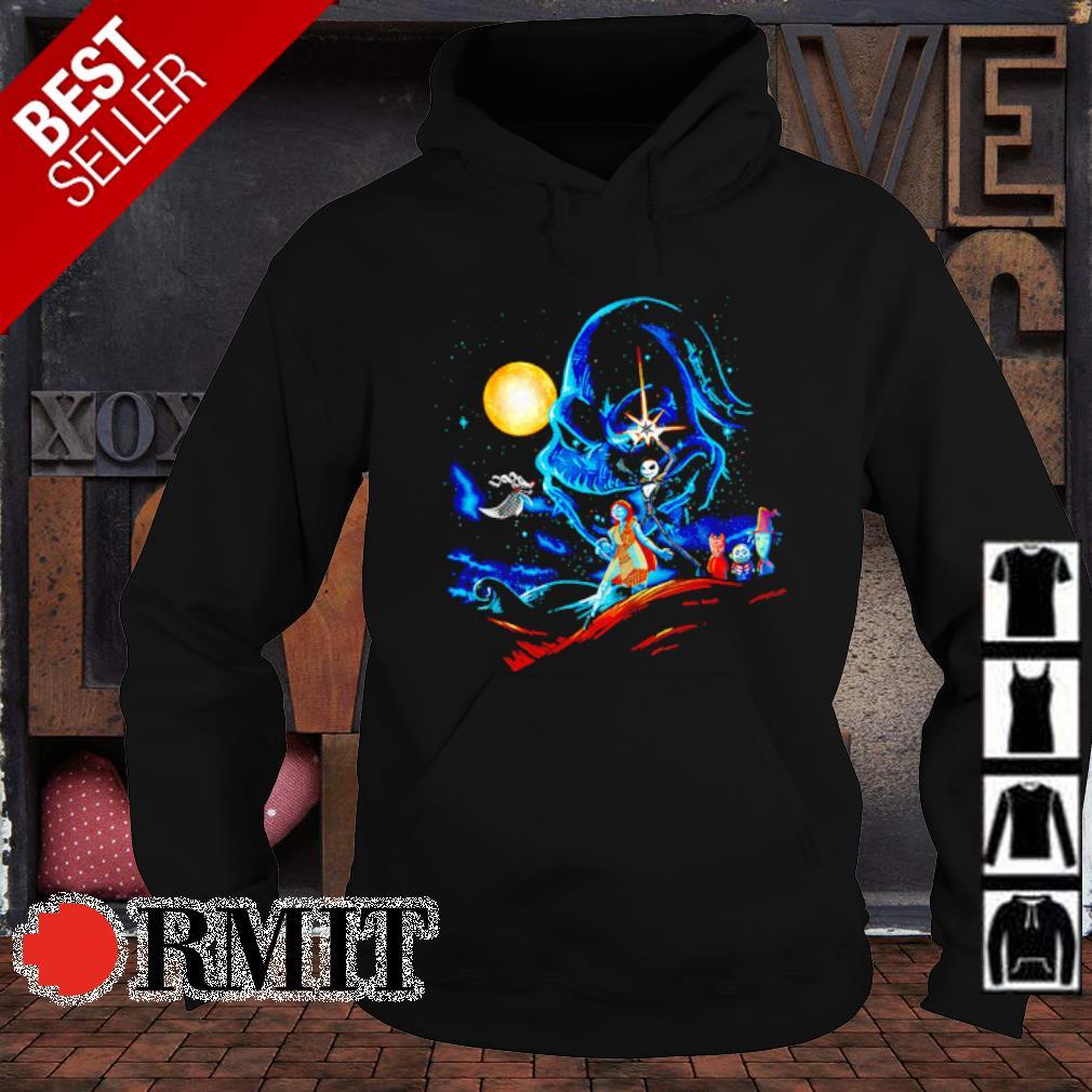 The Nightmare before Christmas characters Star Wars s hoodie1
