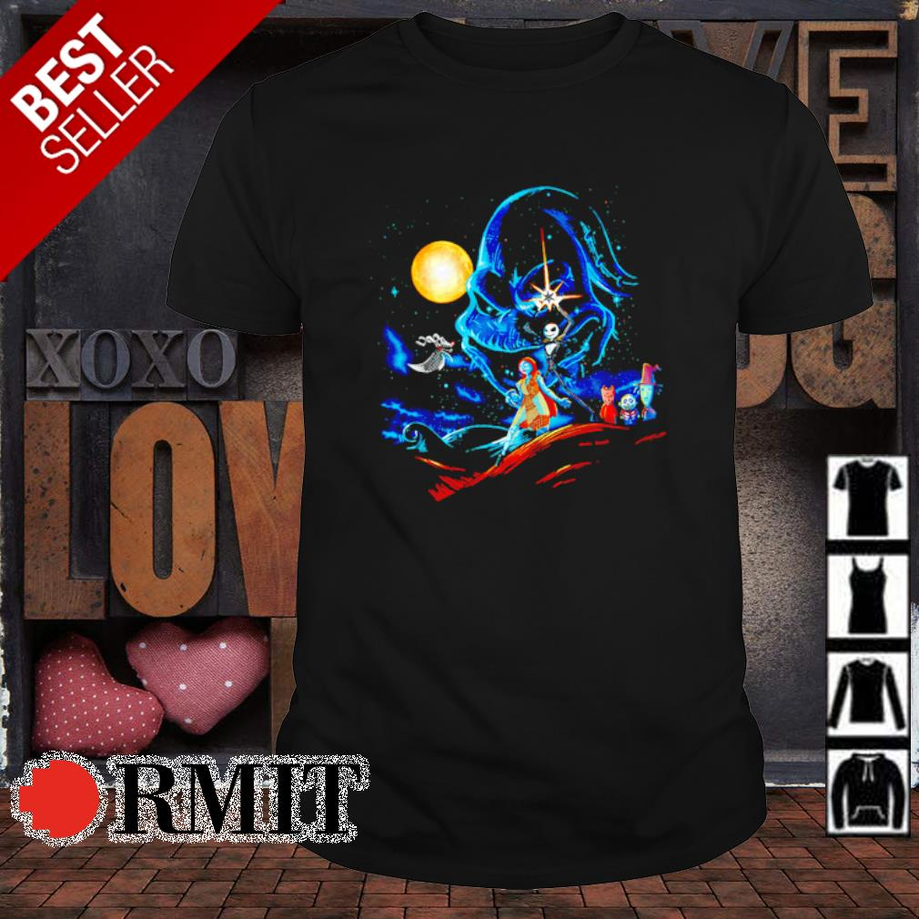 The Nightmare before Christmas characters Star Wars shirt