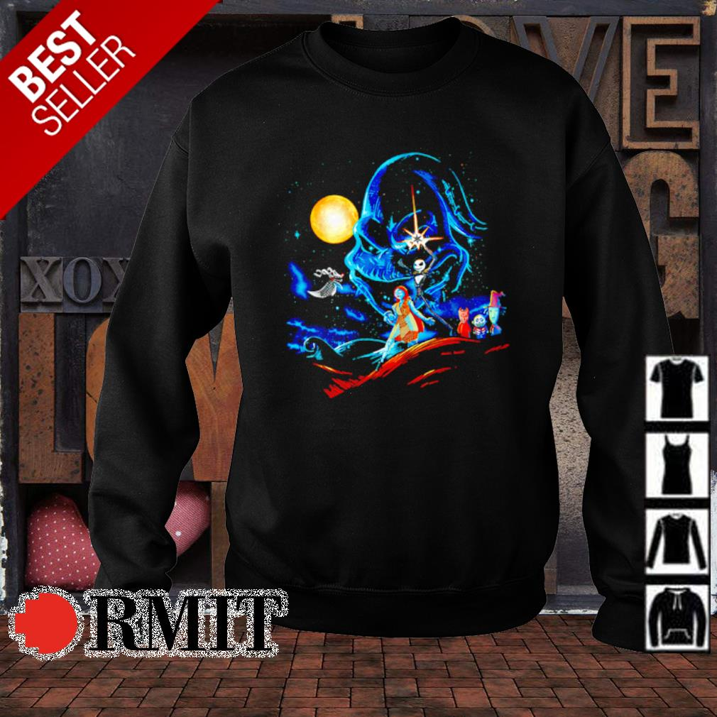 The Nightmare before Christmas characters Star Wars s sweater1