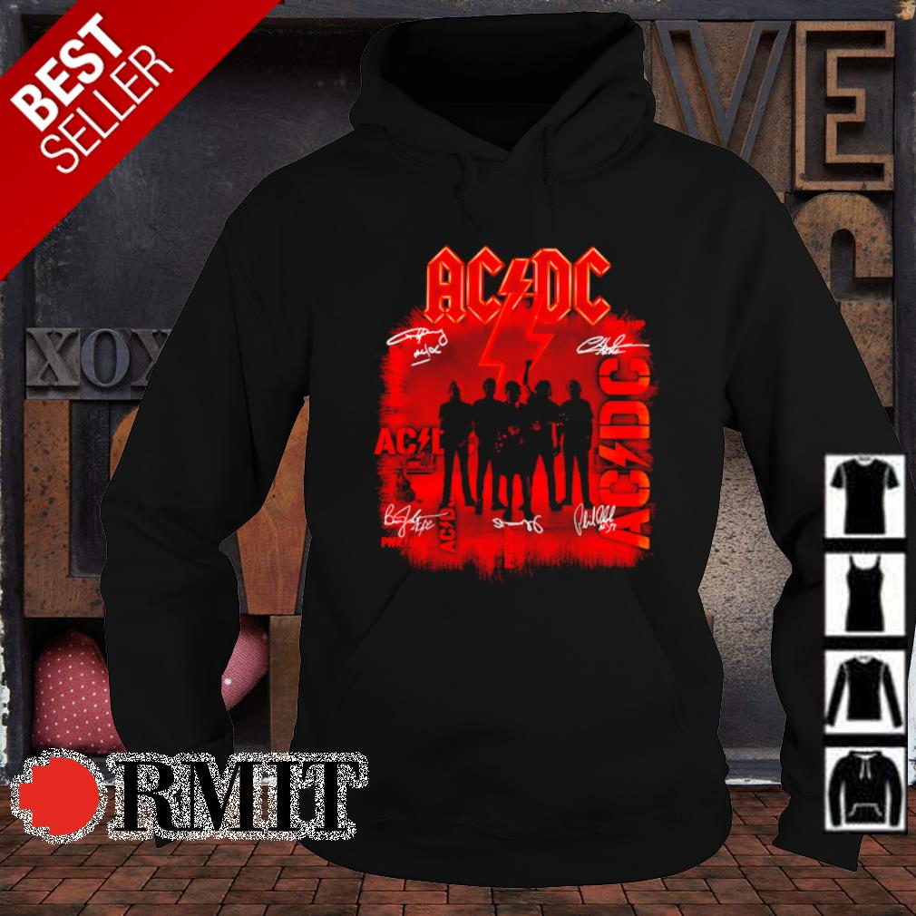 ACDC pwr up members signature s hoodie1