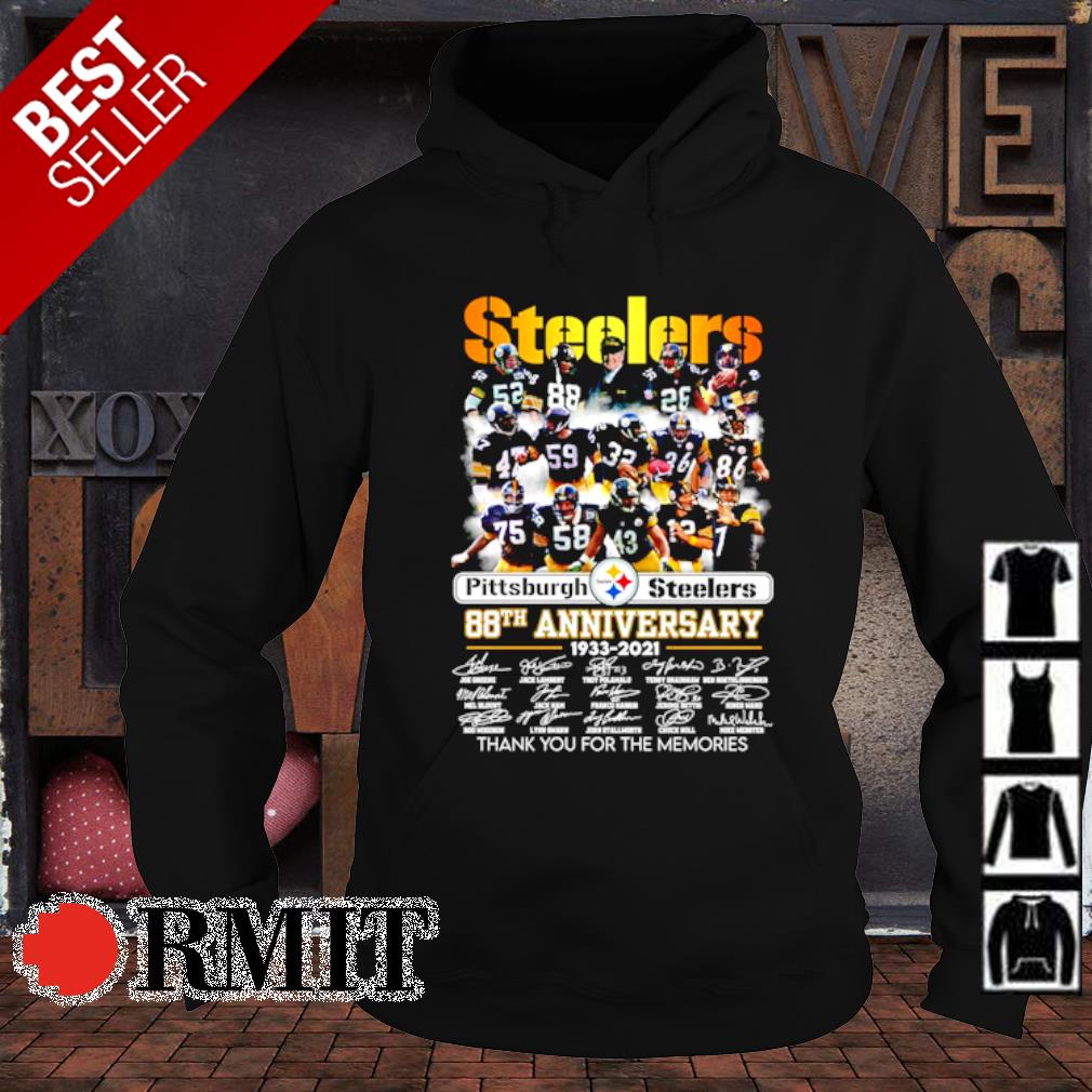 Pittsburgh Steelers 88th Anniversary thank you for the memories s hoodie1