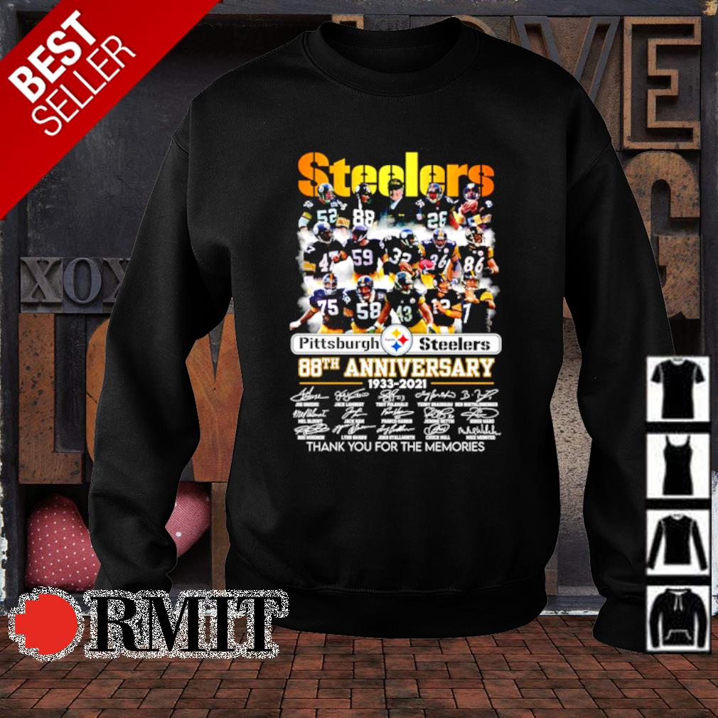 Pittsburgh Steelers 88th Anniversary thank you for the memories s sweater1