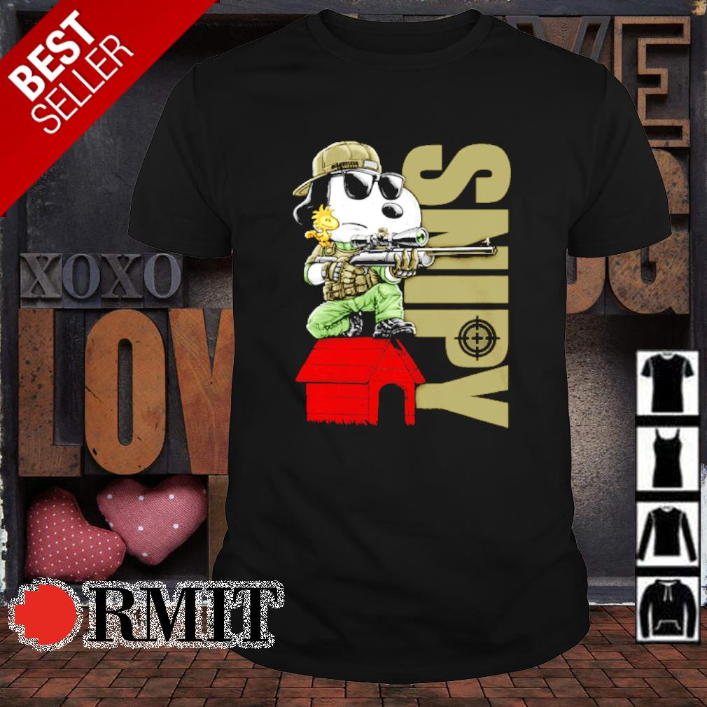 Snoopy snipers Snipy shirt