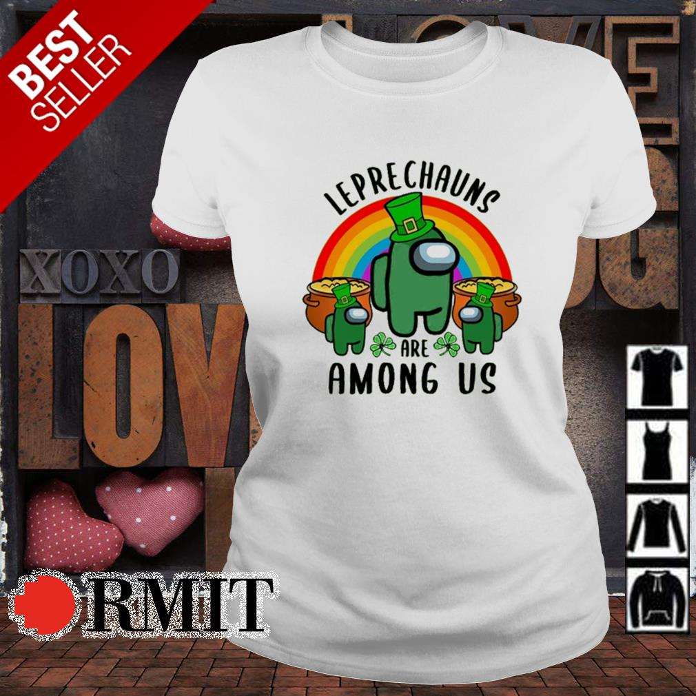 Leprechauns are Among US St Patrick's day s ladies-tee